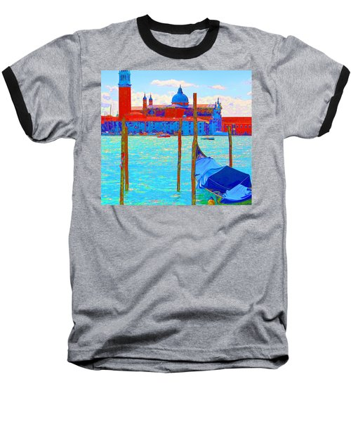 Channeling Matisse   Baseball T-Shirt by Ira Shander