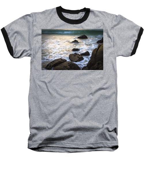 Baseball T-Shirt featuring the photograph Chanteiro Beach Galicia Spain by Pablo Avanzini