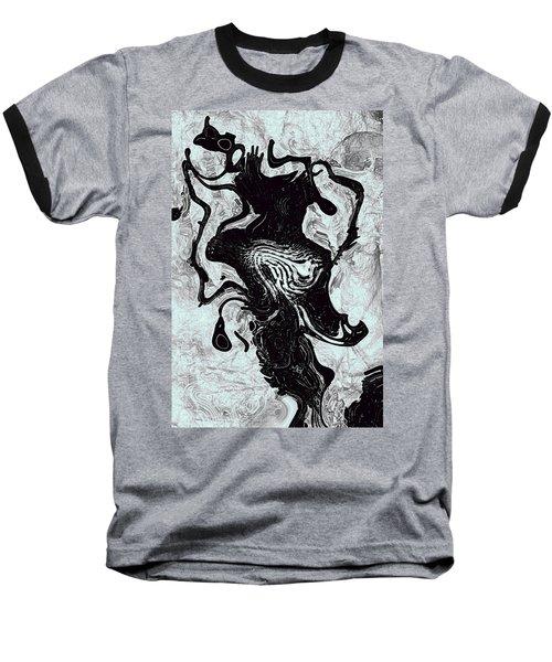 Baseball T-Shirt featuring the digital art Chanteuse by Richard Thomas