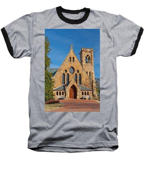 Chapel At Uva Baseball T-Shirt