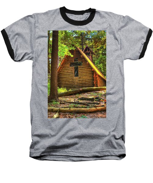 Chapel In The Pines Baseball T-Shirt