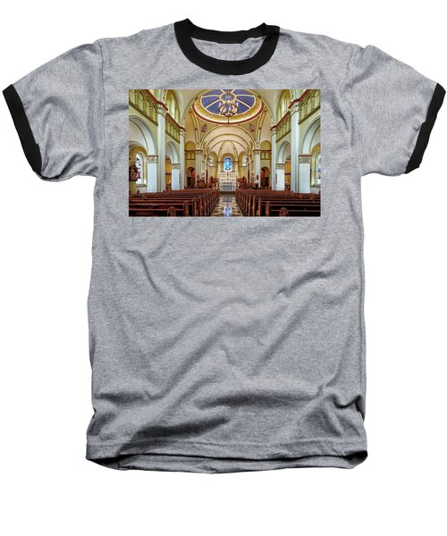 Baseball T-Shirt featuring the photograph Chapel Of The Immaculate Conception by Jim Thompson