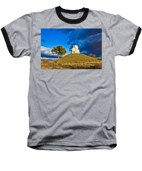 Chapel On Green Hill Nin Dalmatia Baseball T-Shirt