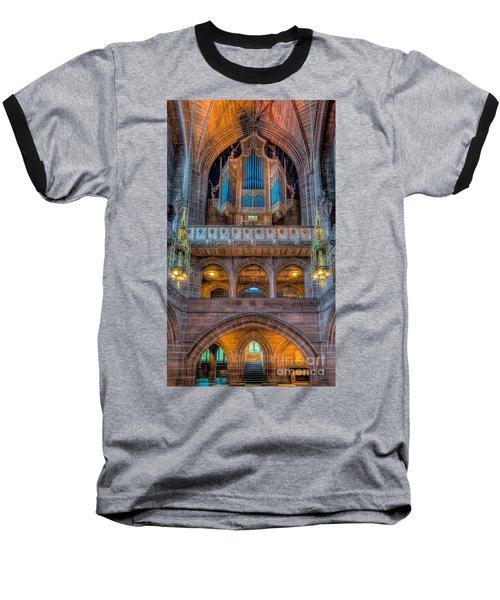 Chapel Organ Baseball T-Shirt