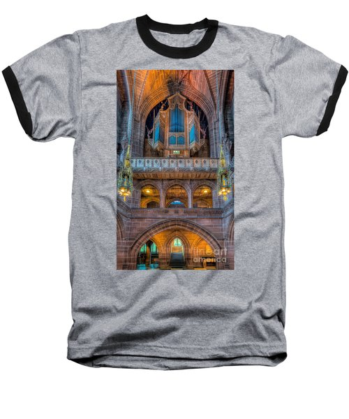 Chapel Organ Baseball T-Shirt