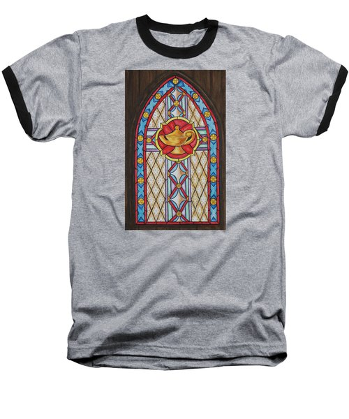 Chapel Window Baseball T-Shirt