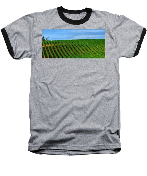Chardonnay Sky 17990 Baseball T-Shirt by Jerry Sodorff