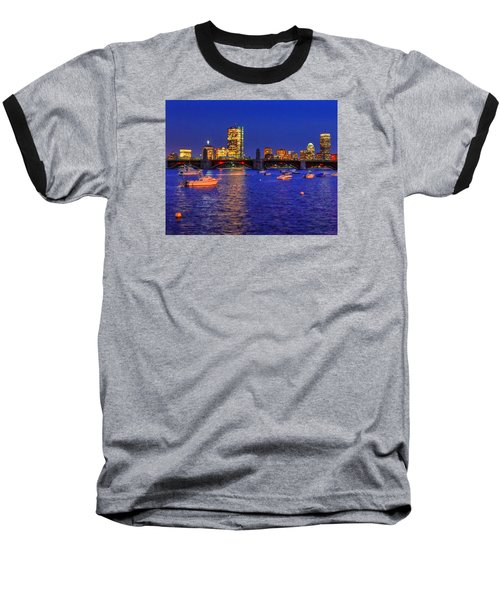 Charles River Basin 013 Baseball T-Shirt