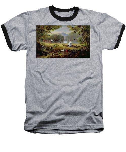 Charles Waterton Capturing A Cayman, 1825-26 Baseball T-Shirt