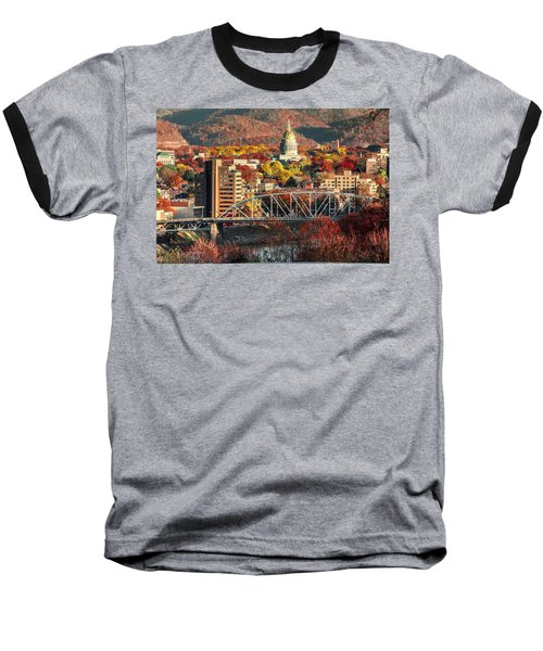 Charleston And Wv Capitol Baseball T-Shirt
