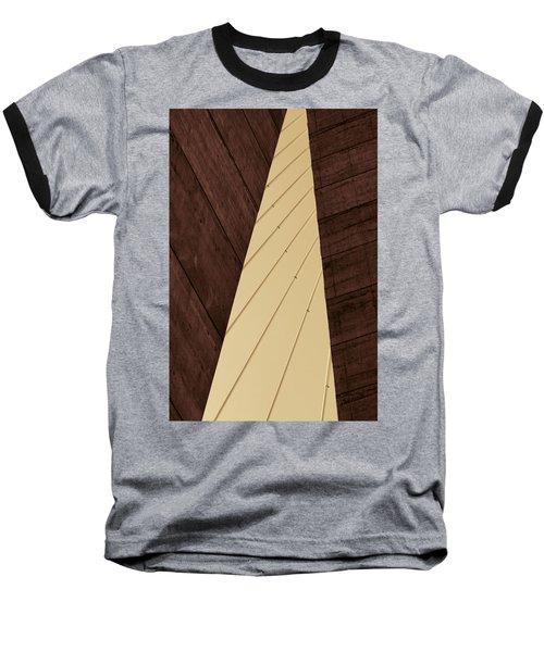 Charleston Bridge Abstract Baseball T-Shirt