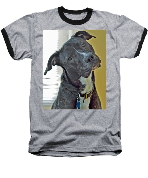 Baseball T-Shirt featuring the photograph Charlie by Lisa Phillips