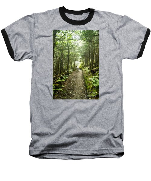 Baseball T-Shirt featuring the photograph Charlies Bunion Bald Trail by Debbie Green