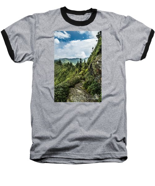Baseball T-Shirt featuring the photograph Charlies Bunion Trail by Debbie Green
