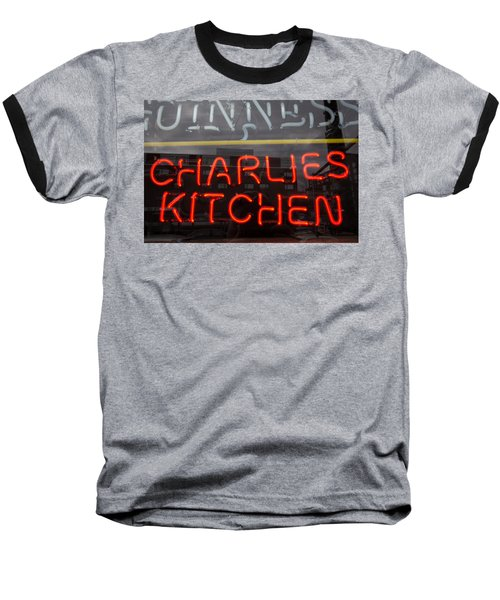 Charlies Kitchen Baseball T-Shirt