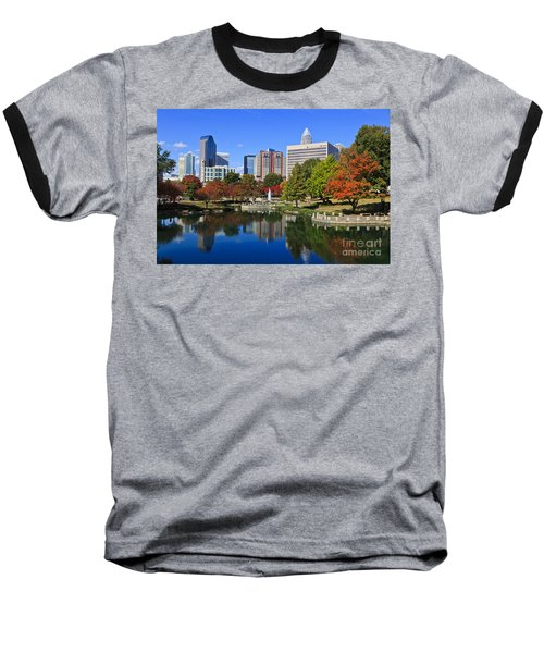 Charlotte North Carolina Marshall Park Baseball T-Shirt