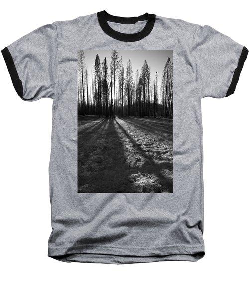 Charred Silence - Yosemite Rm Fire 2013 Baseball T-Shirt