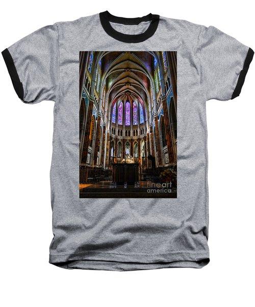 Chartres Baseball T-Shirt