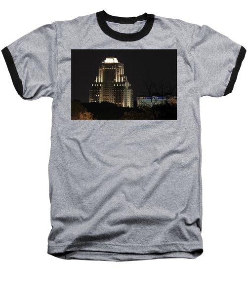 Chase Park Plaza From Art Hill Baseball T-Shirt