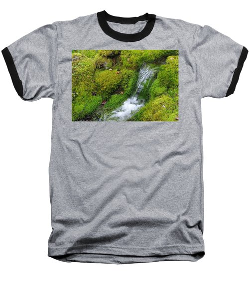 Baseball T-Shirt featuring the photograph Chasing Waterfalls by Marilyn Wilson