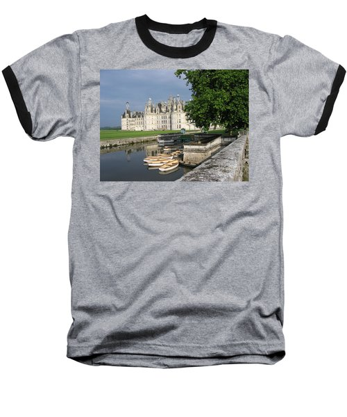 Chateau Chambord Boating Baseball T-Shirt