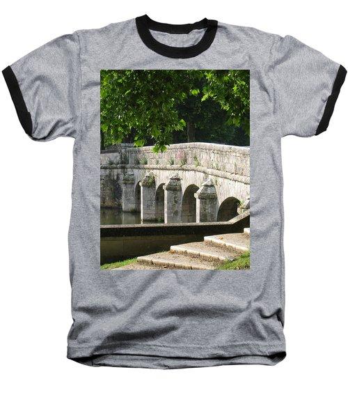 Chateau Chambord Bridge Baseball T-Shirt