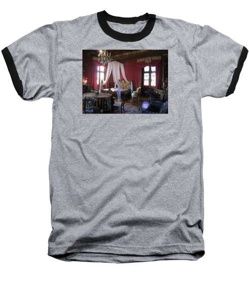 Chateau De Cormatin Baseball T-Shirt by Travel Pics