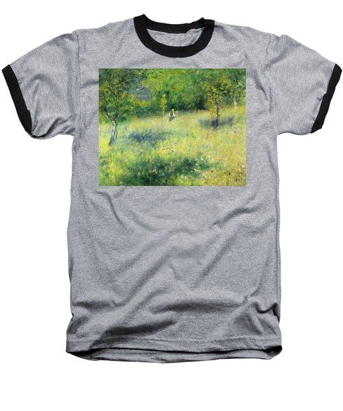 Chatou After Renoir Baseball T-Shirt