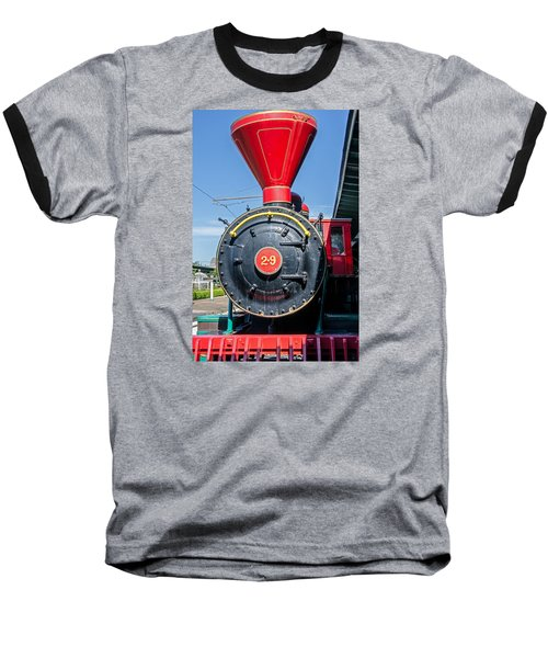 Chattanooga Choo Choo Steam Engine Baseball T-Shirt
