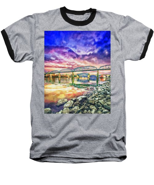 Chattanooga Reflection 1 Baseball T-Shirt