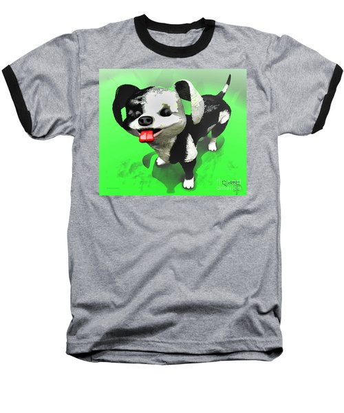 Baseball T-Shirt featuring the painting Checkmate by Dave Luebbert