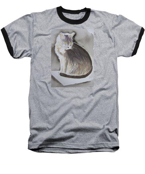 Cheeky Cat  Baseball T-Shirt