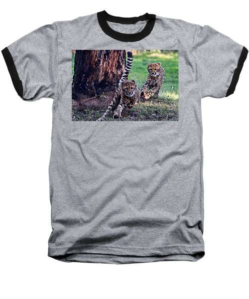 Cheetah Cubs Baseball T-Shirt