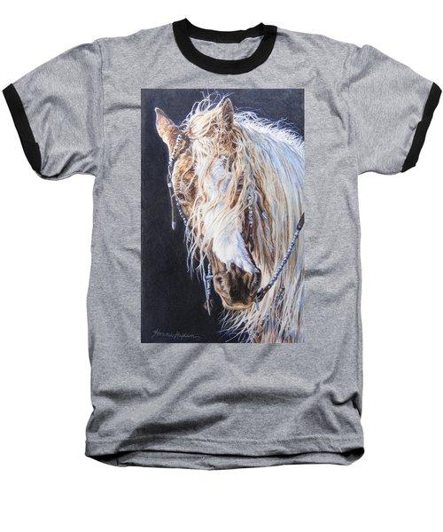 Cherokee Rose Gypsy Horse Baseball T-Shirt