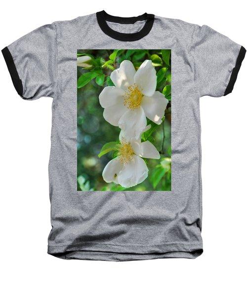 Cherokee Roses Baseball T-Shirt