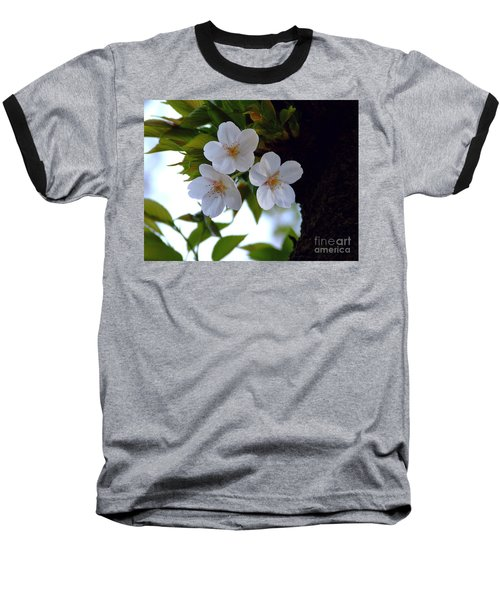 Baseball T-Shirt featuring the photograph Cherry Blossom by Andrea Anderegg