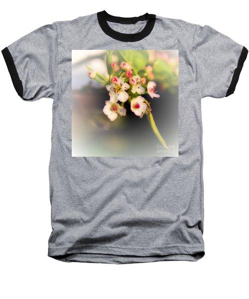 Cherry Blossom Flowers Baseball T-Shirt