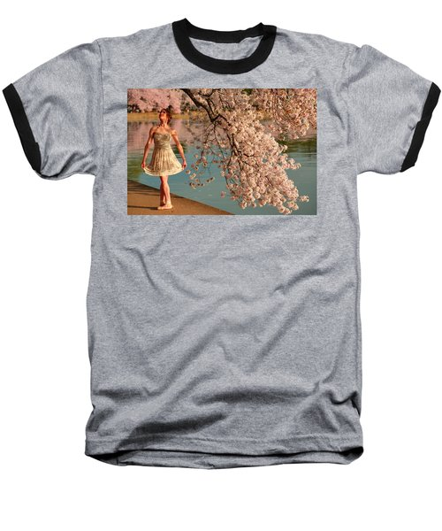 Cherry Blossoms 2013 - 082 Baseball T-Shirt