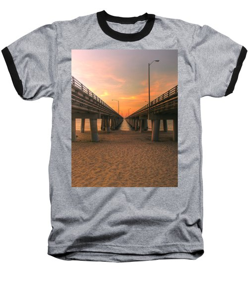 Chesapeake Bay Bridge IIi  Baseball T-Shirt
