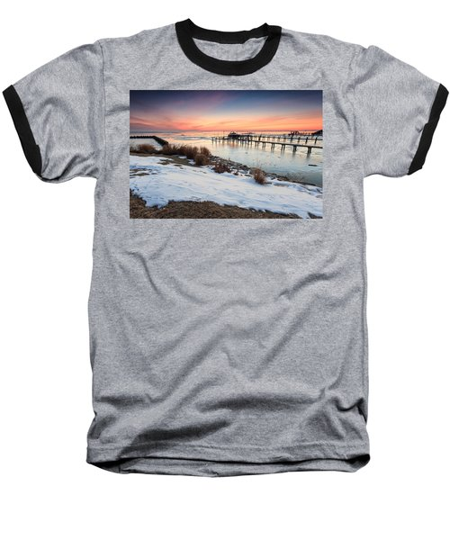 Chesapeake Bay Freeze Baseball T-Shirt