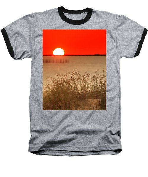 Chesapeake Sunset Baseball T-Shirt