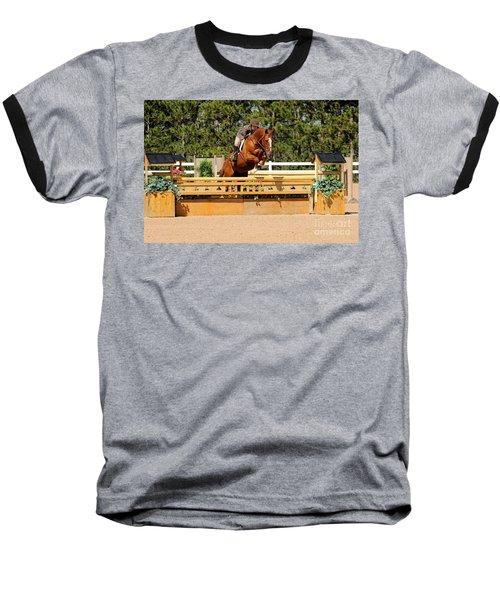 Chestnut Hunter Baseball T-Shirt