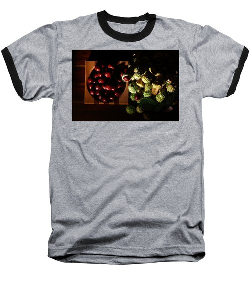 Baseball T-Shirt featuring the photograph Chestnuts by David Andersen