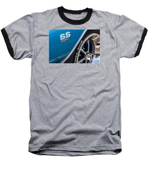 Chevelle Ss 454 Badge Baseball T-Shirt