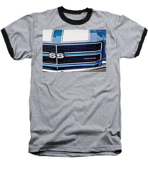 Chevrolet Chevelle Ss Grille Emblem 2 Baseball T-Shirt