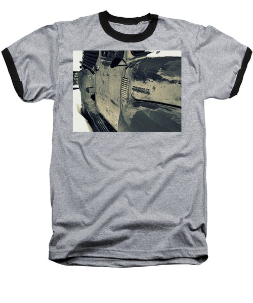 Arroyo Seco Chevy In Silver Baseball T-Shirt