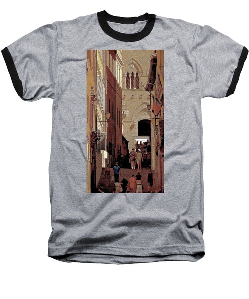 Chiaroscuro Siena  Baseball T-Shirt