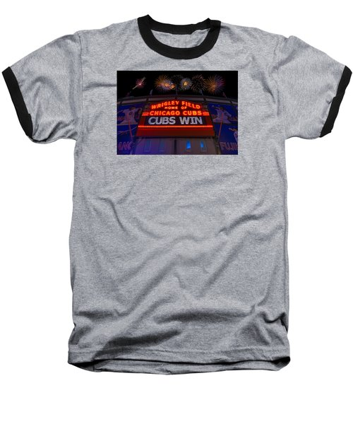 Chicago Cubs Win Fireworks Night Baseball T-Shirt