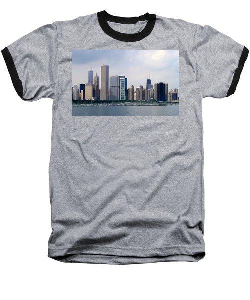 Chicago Panorama Baseball T-Shirt