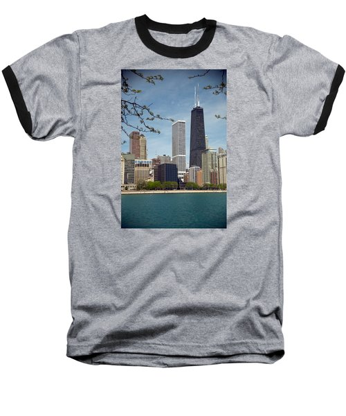 Chicago Spring Baseball T-Shirt by Lawrence Boothby